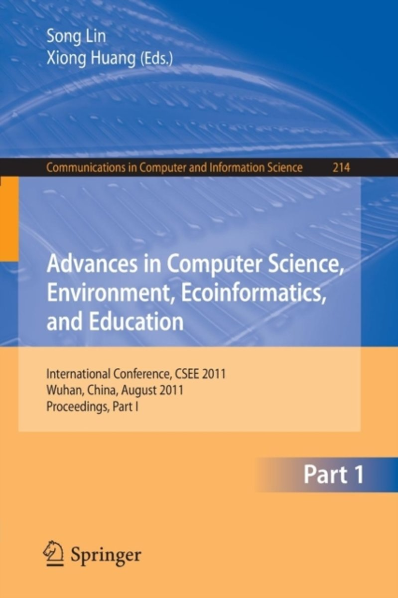 Advances in Computer Science, Environment, Ecoinformatics, and Education