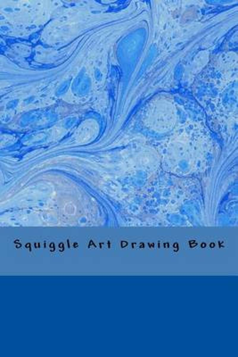 Squiggle Art Drawing Book