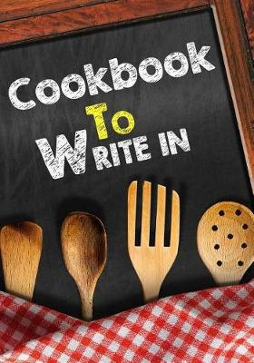 Cookbooks to Write in