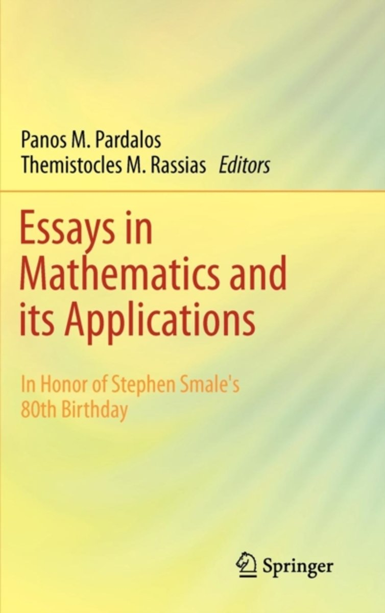 Essays in Mathematics and its Applications