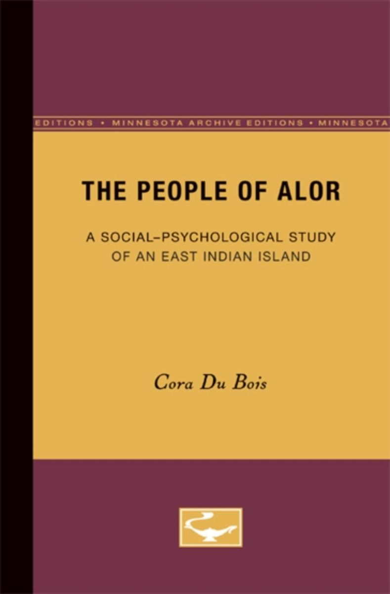 The People of Alor