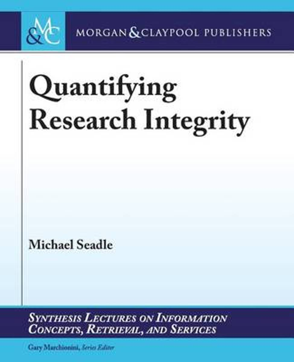 Quantifying Research Integrity