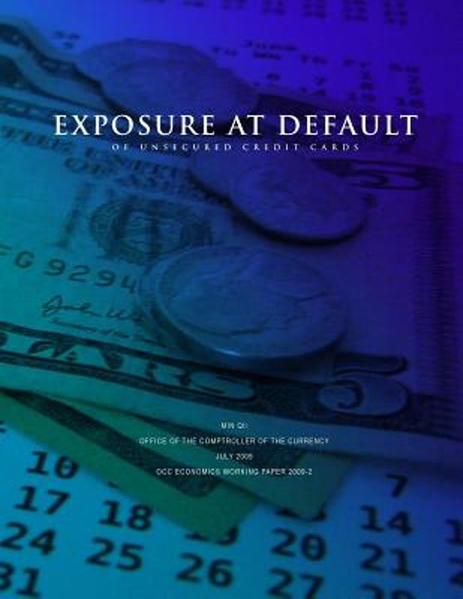 Exposure at Default of Unsecured Credit Cards