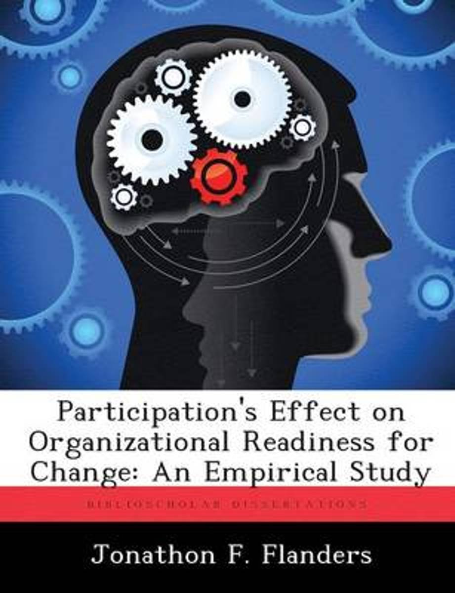 Participation's Effect on Organizational Readiness for Change