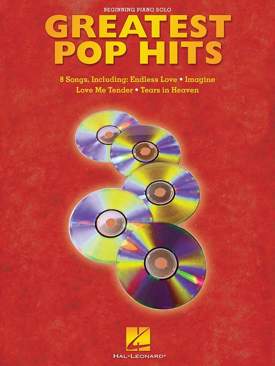 Greatest Pop Hits Songbook