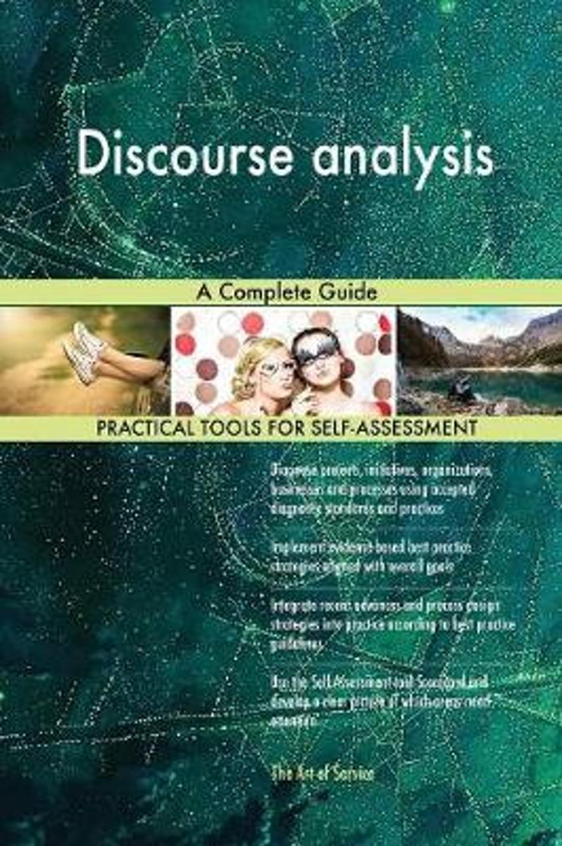 Discourse Analysis a Complete Guide