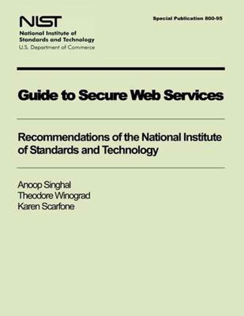 Guide to Secure Web Services