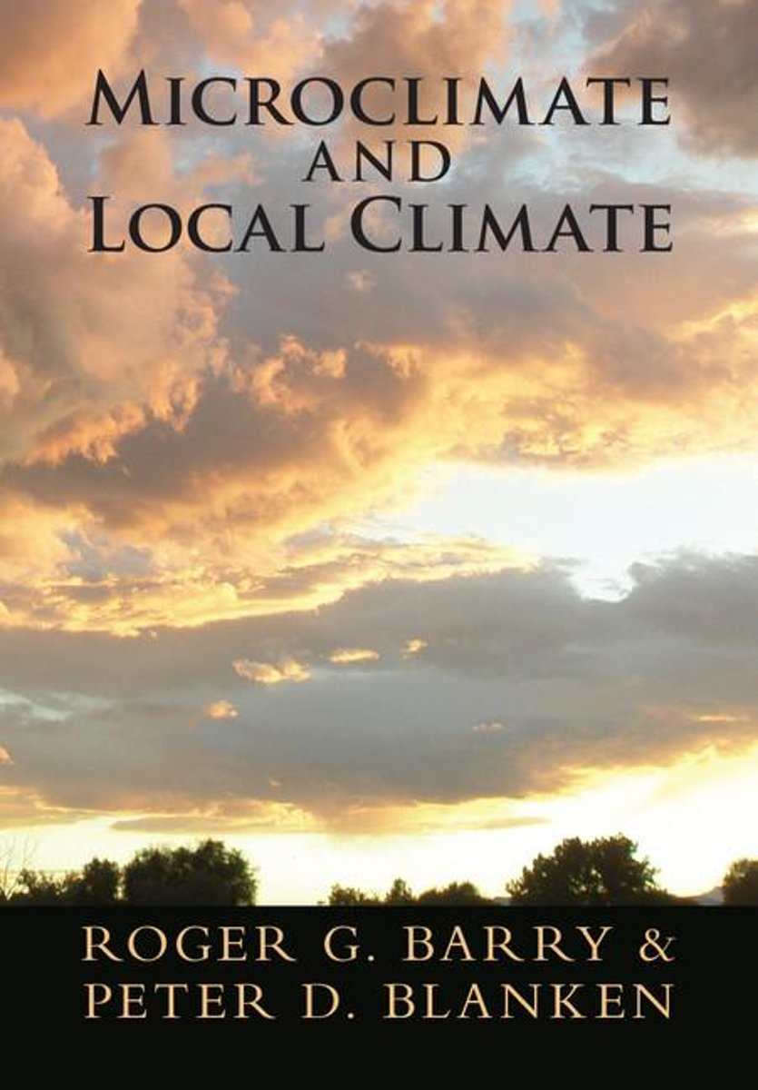 Microclimate and Local Climate