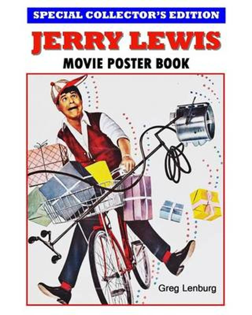 Jerry Lewis Movie Poster Book - Special Collector's Edition