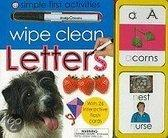 Wipe Clean Letters: Simple First Activities [With Wipe Clean Pen And Flash Cards]