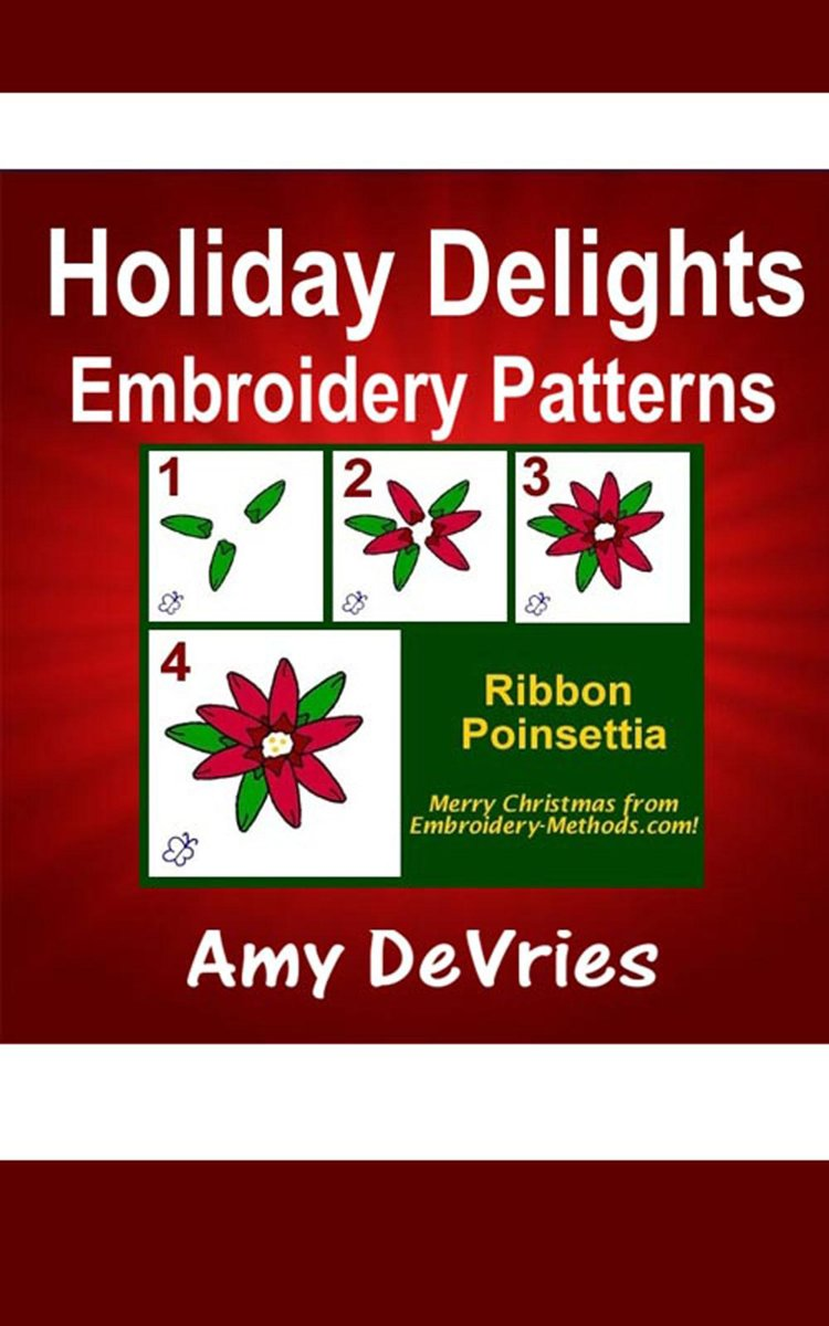Holiday Delights Embroidery Patterns