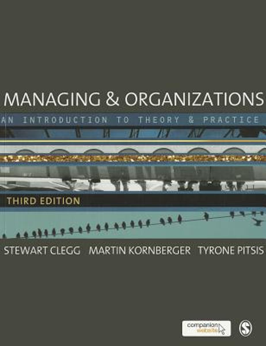 Managing and Organizations