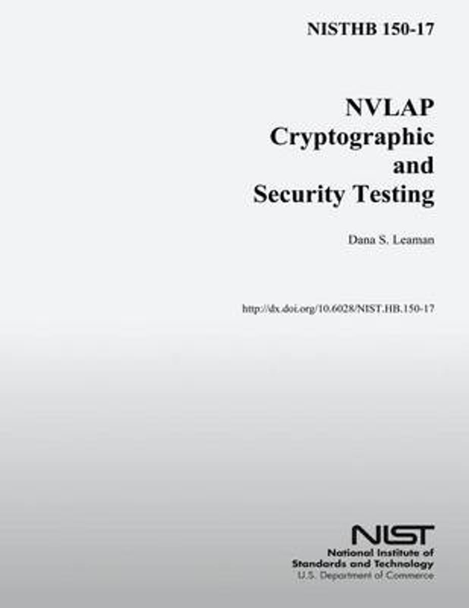 Nisthb 150-17 Nvlap Cryptographic and Security Testing