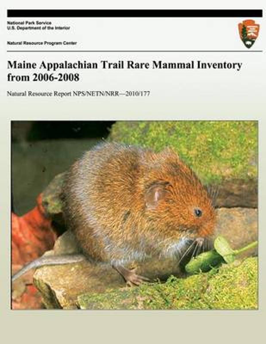 Maine Appalachian Trail Rare Mammal Inventory from 2006-2008