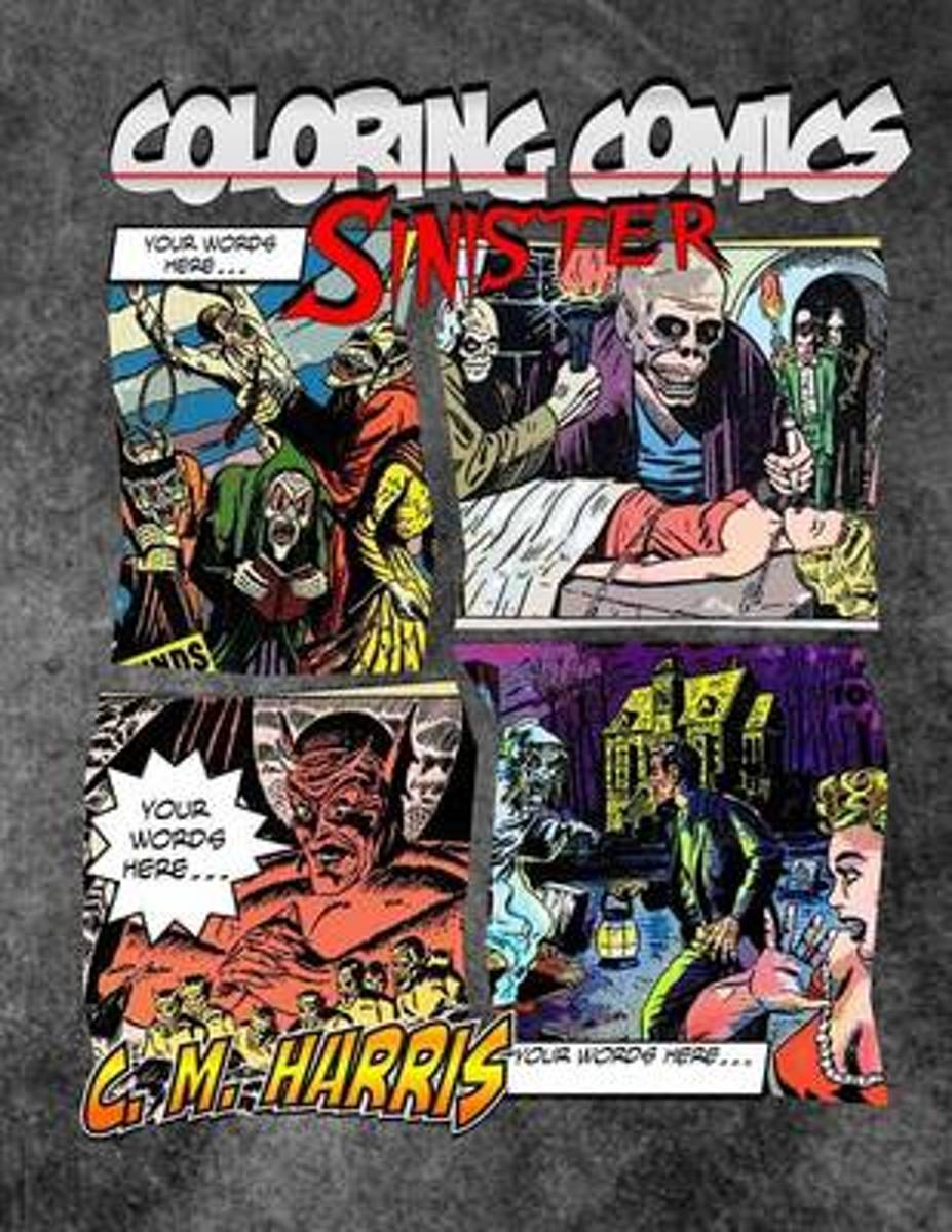 Coloring Comics - Sinister