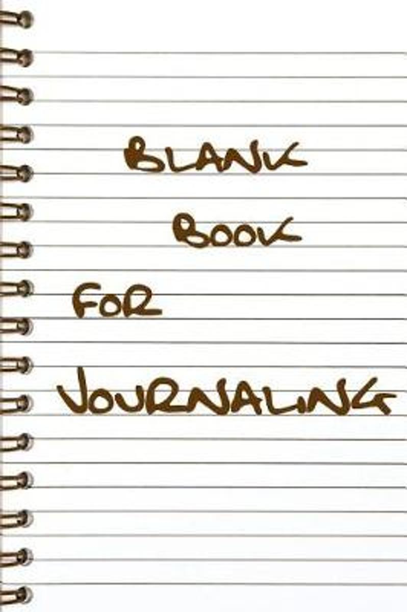 Blank Book for Journaling