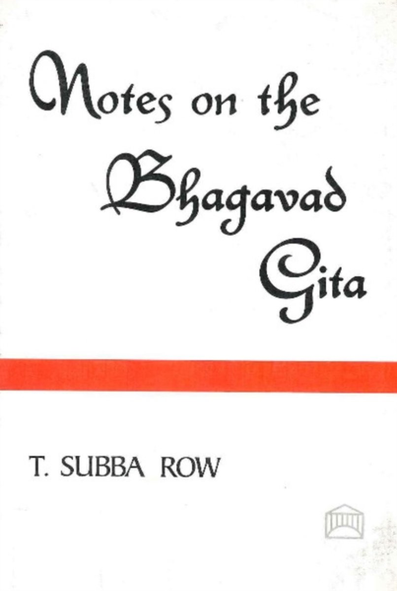Notes on the Bhagavad-Gita