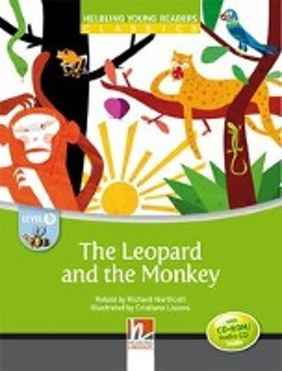 The Leopard and the Monkey - Young Reader Level B with Audio CD