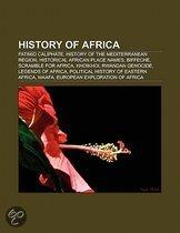 History Of Africa: Dutch West India Company, History Of The Mediterranean Region, Historical African Place Names, Biffeche, Scramble For