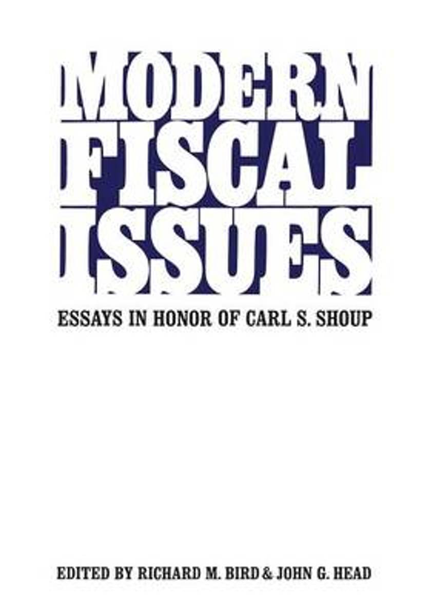 Modern Fiscal Issues