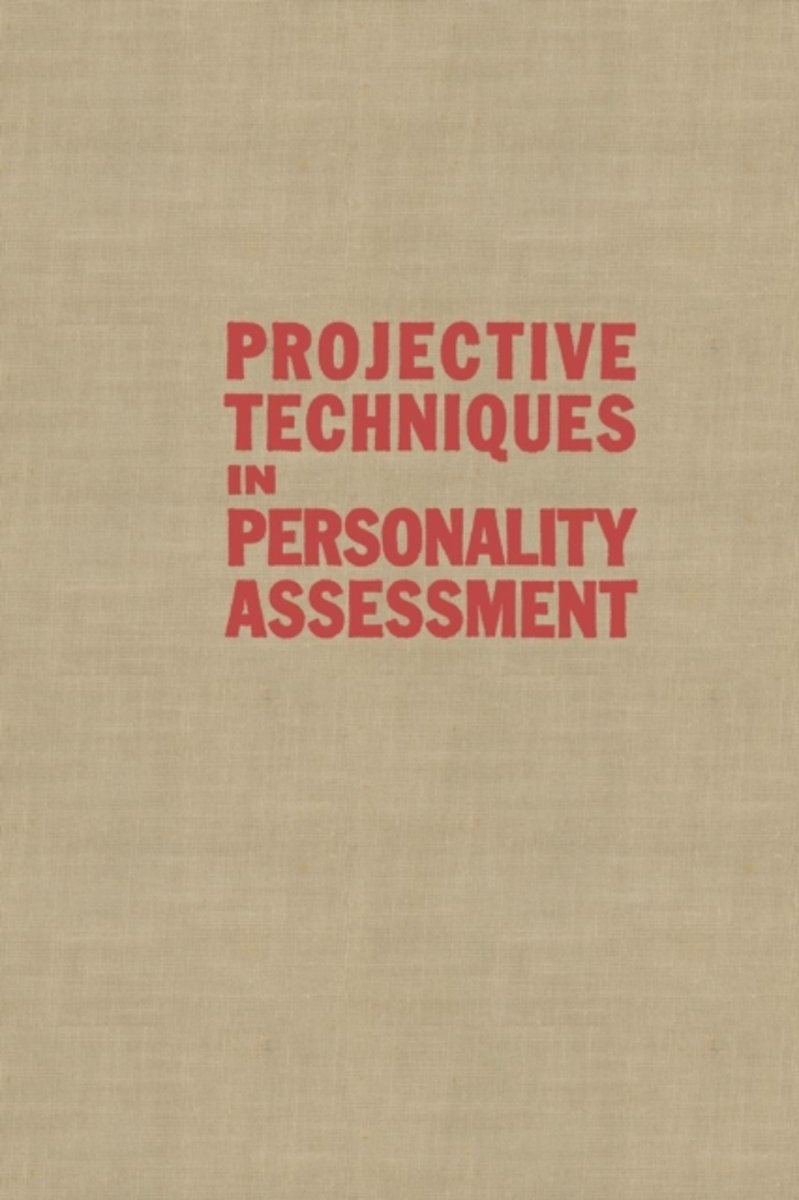 Projective Techniques in Personality Assessment