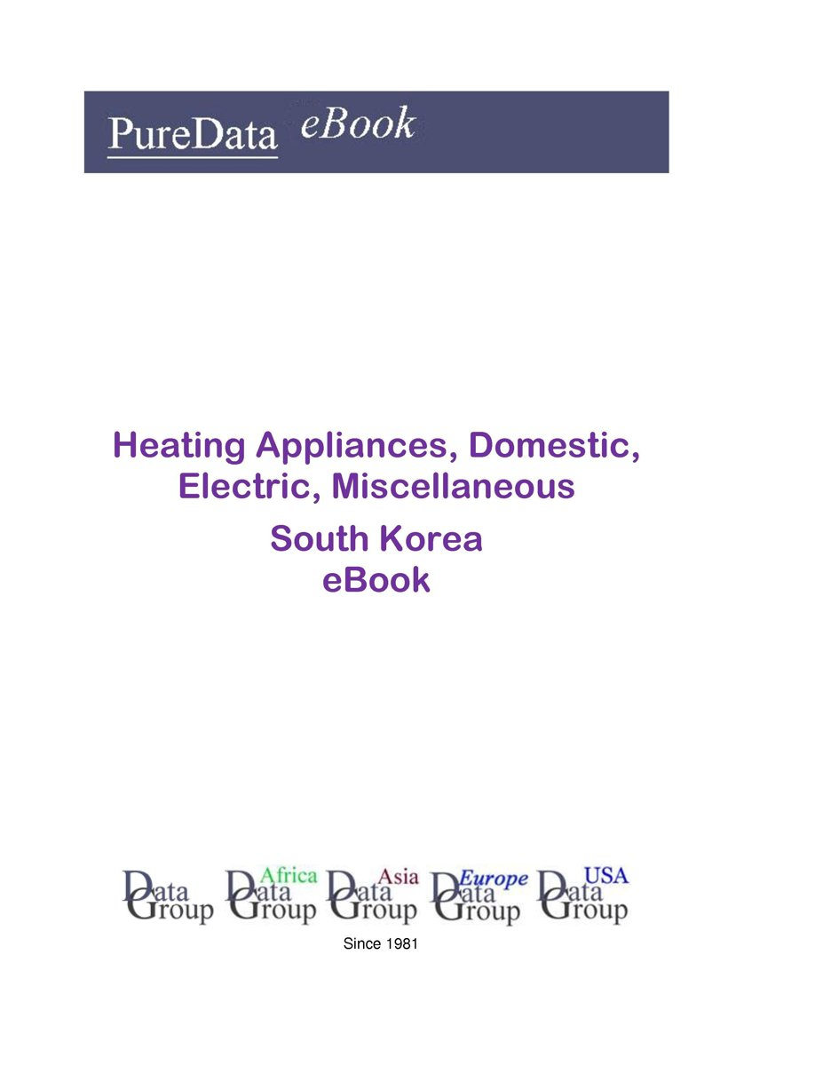 Heating Appliances, Domestic, Electric, Miscellaneous in South Korea