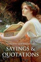 Oxford Treasury Of Sayings And Quotations