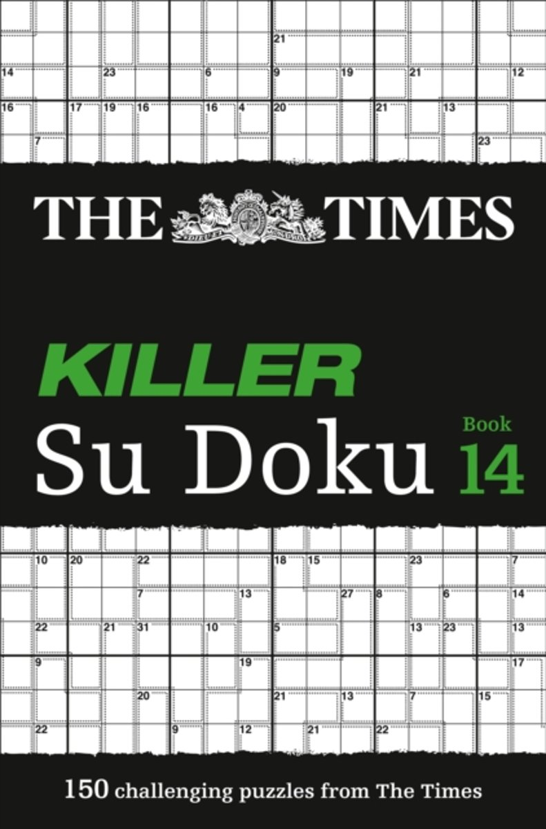 The Times Killer Su Doku Book 14