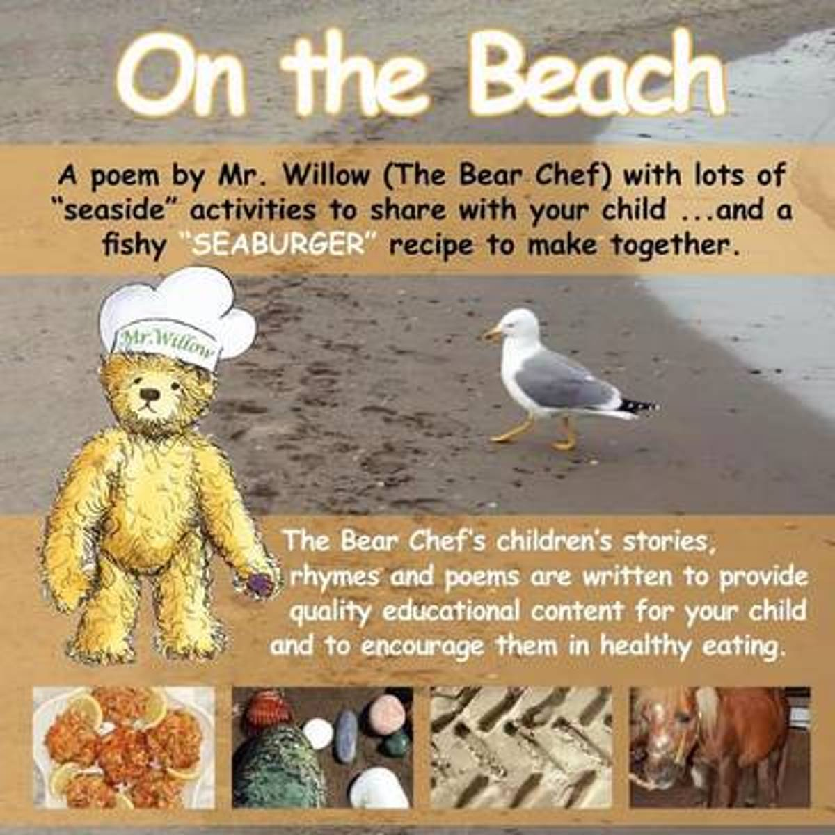 On the Beach (Bear Chef Stories & Rhymes)