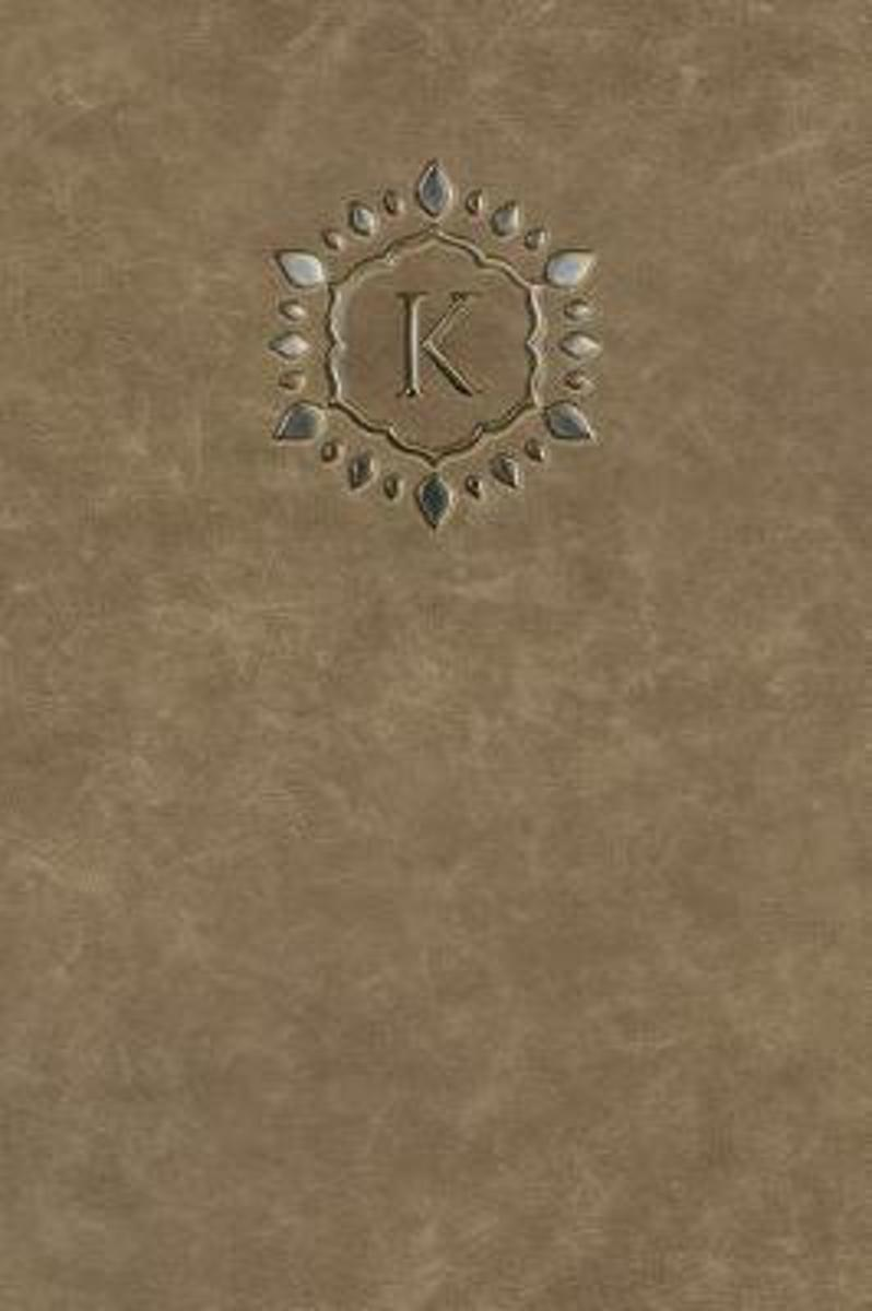 Monogram K Any Day Planner Notebook