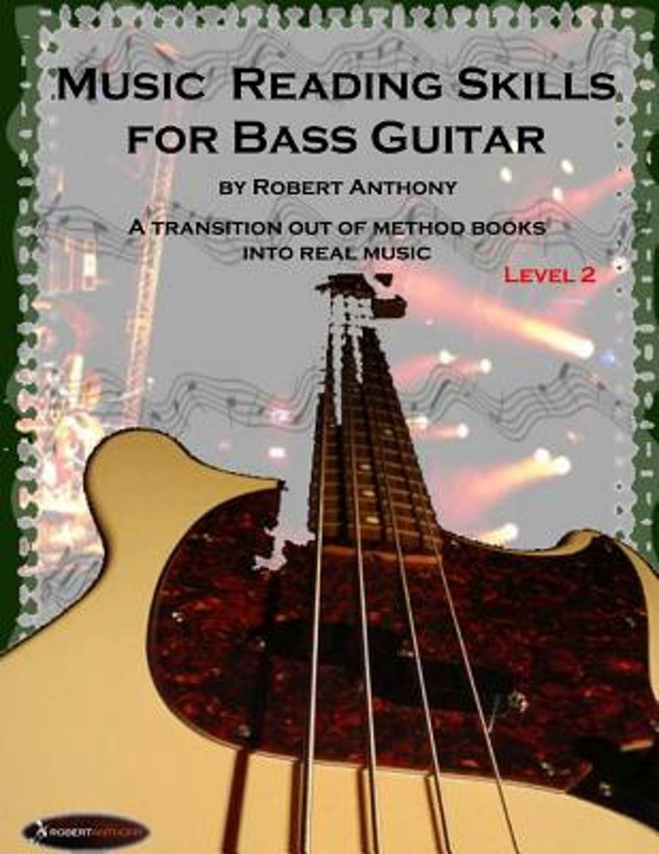 Music Reading Skills for Bass Guitar Level 2