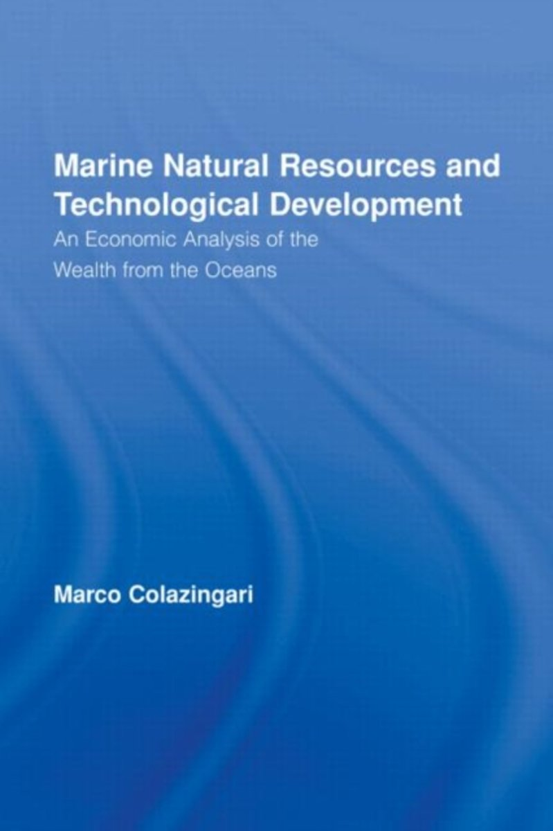 Marine Natural Resources and Technological Development