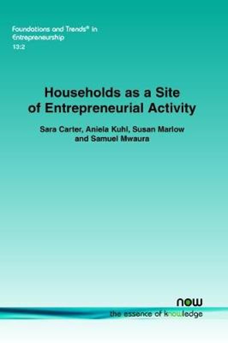 Households as a Site of Entrepreneurial Activity