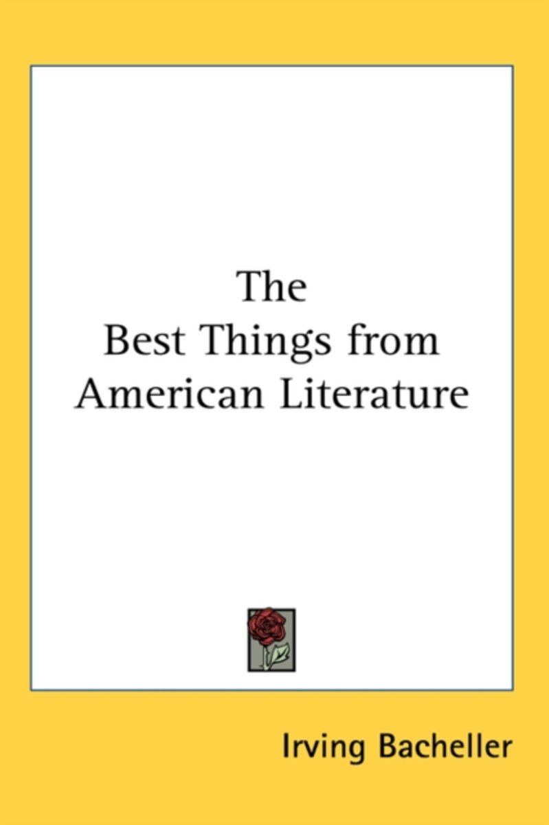 The Best Things from American Literature