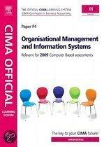 Cima Official Learning System Organisational Management and Information Systems
