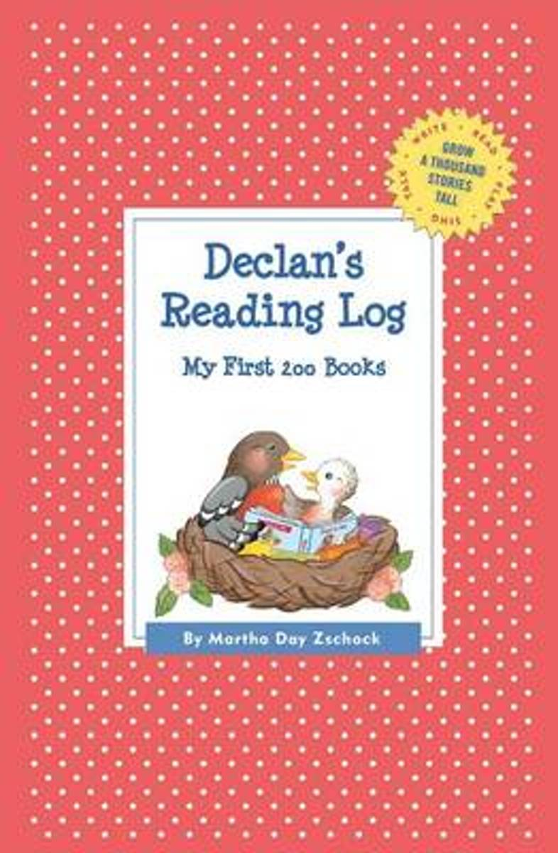 Declan's Reading Log