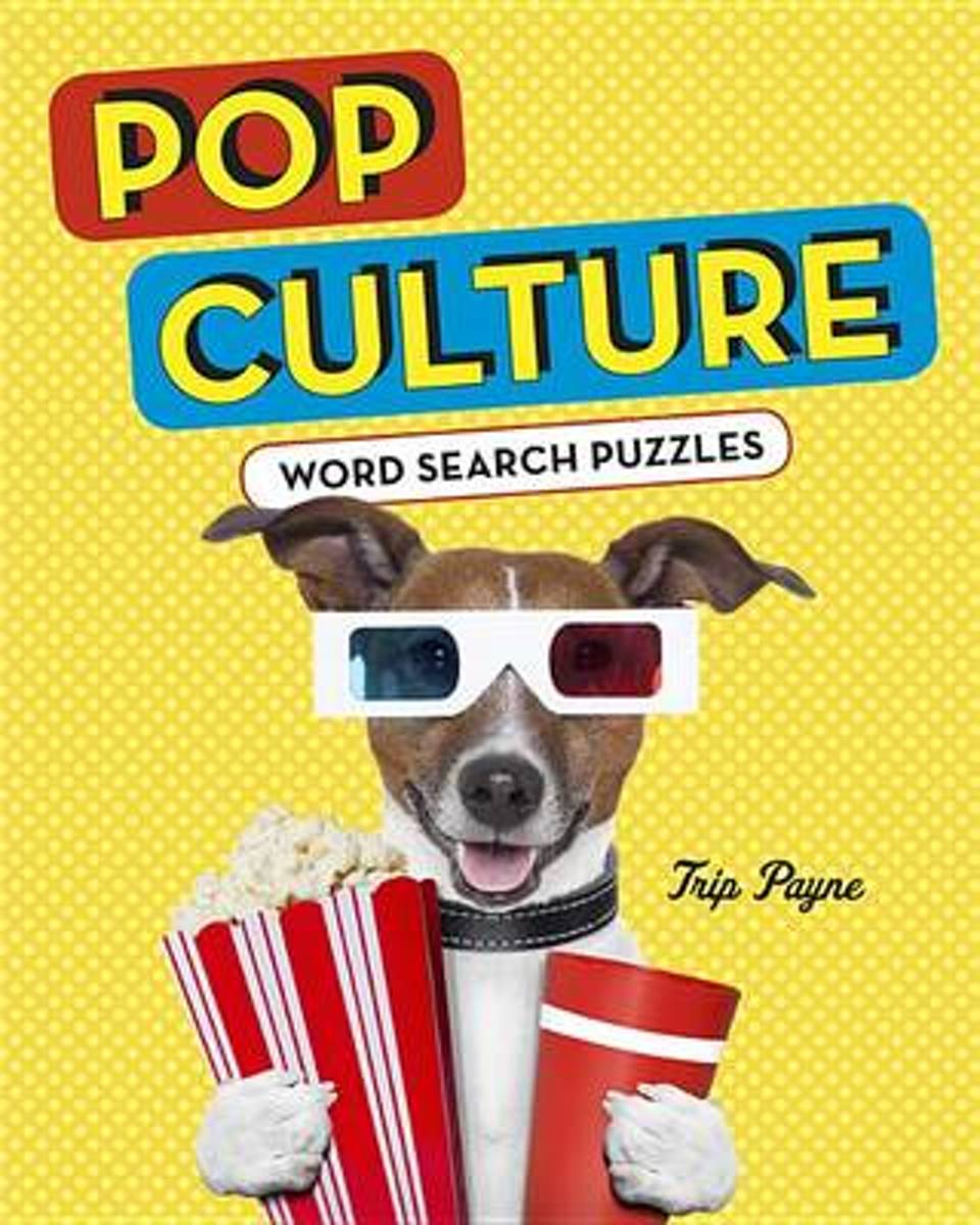 Pop Culture Word Search Puzzles