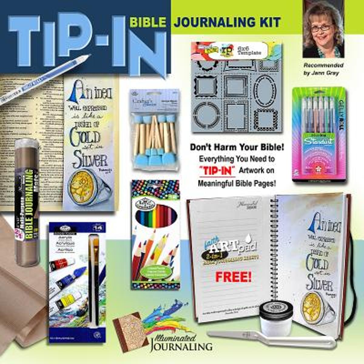 Tip-In Bible Journaling Kit