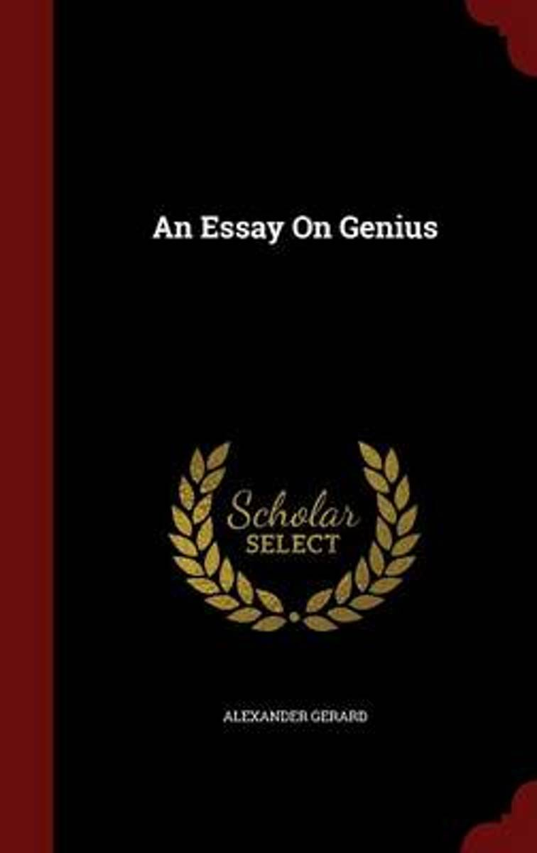 An Essay on Genius