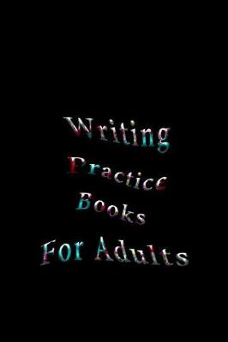 Writing Practice Books for Adults
