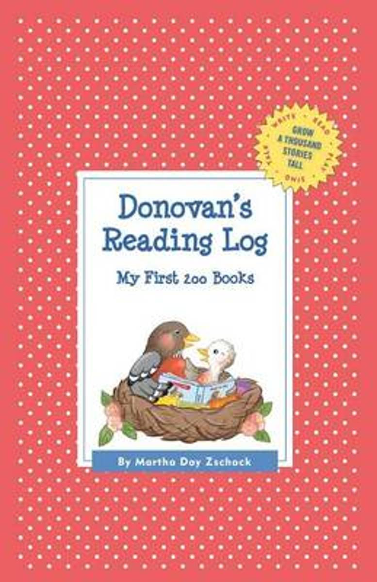 Donovan's Reading Log