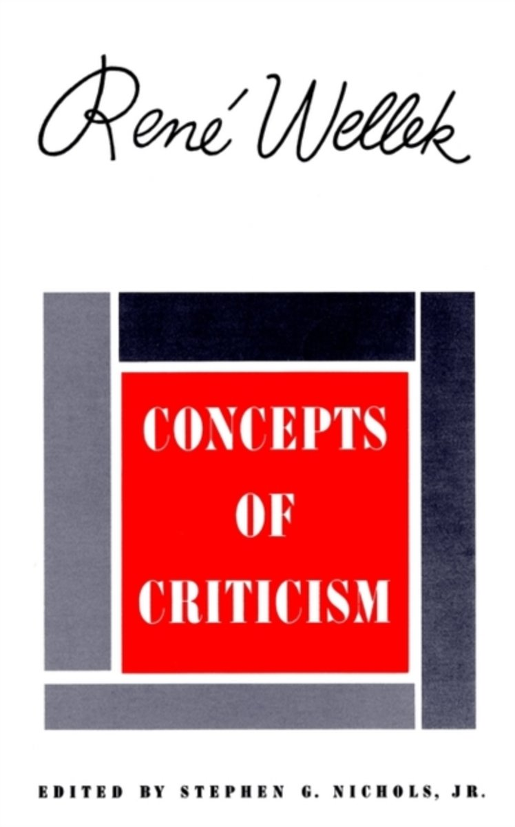 Concepts of Criticism