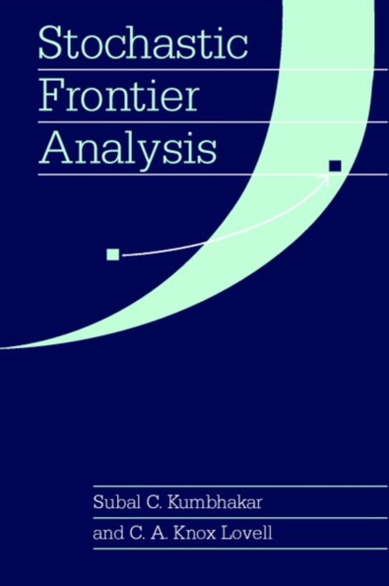Stochastic Frontier Analysis