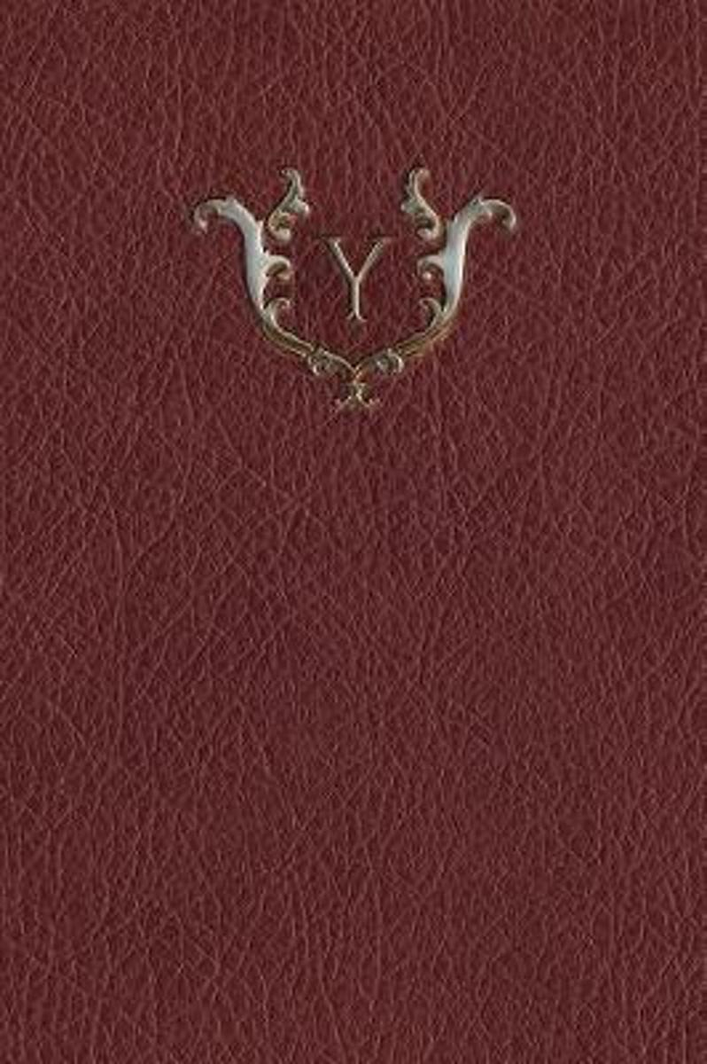 Monogram y Any Day Planner Notebook
