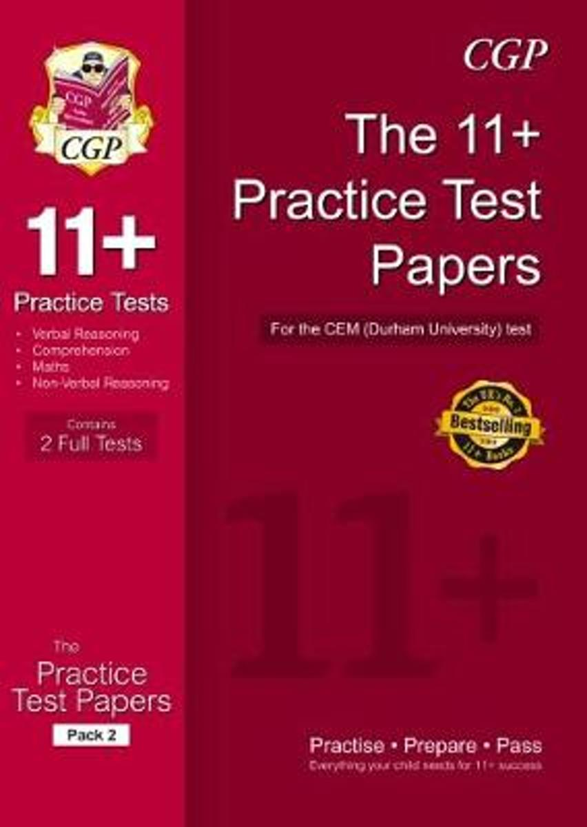 11+ Practice Papers for the CEM Test - Pack 3