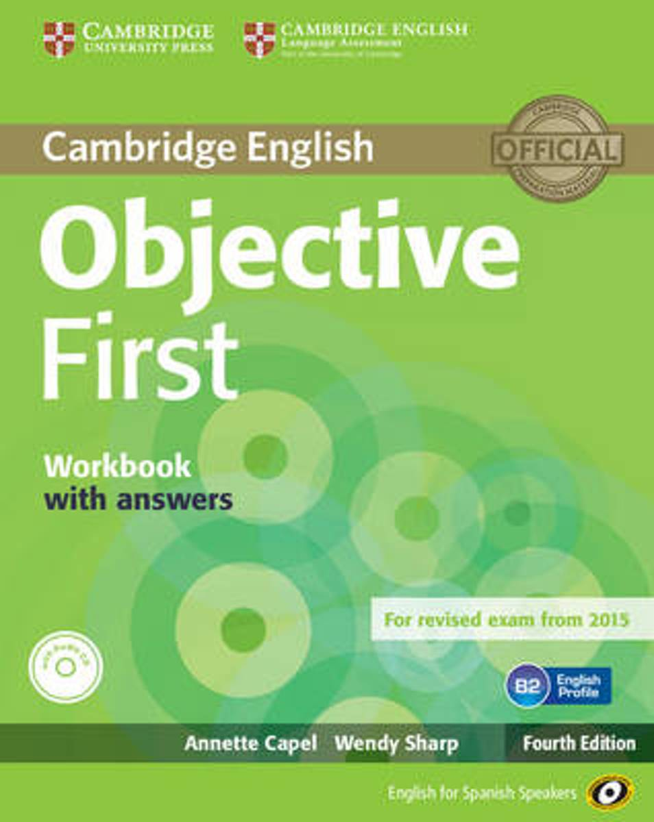 Objective First for Spanish Speakers Workbook with Answers with Audio CD