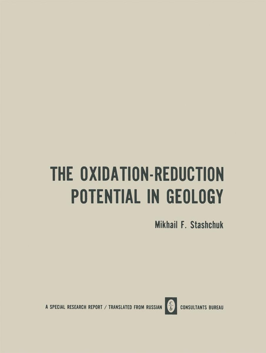 The Oxidation-Reduction Potential in Geology