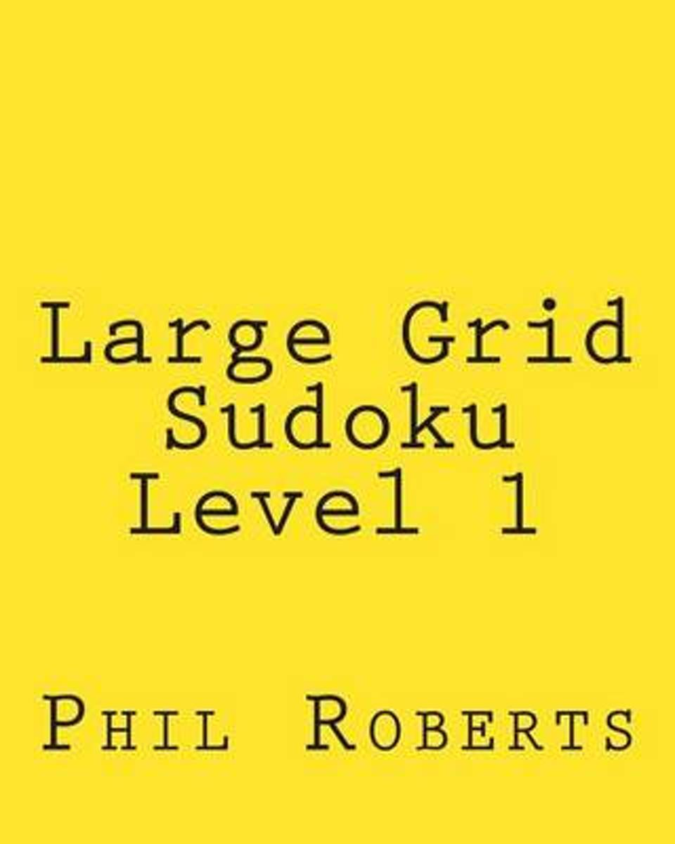 Large Grid Sudoku Level 1