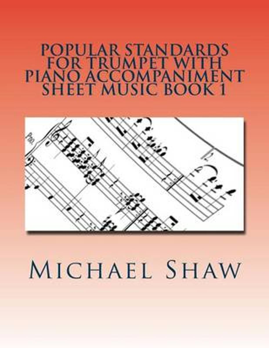 Popular Standards for Trumpet with Piano Accompaniment Sheet Music Book 1