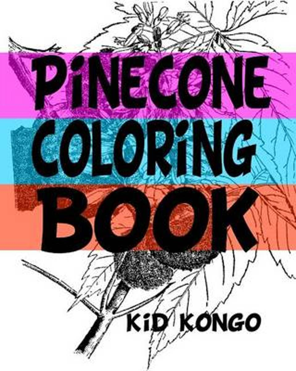 Pinecone Coloring Book